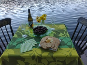 Design for Change, Wine and cheese on the dock
